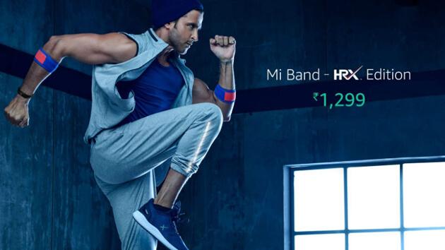 Xiaomi Mi Band-HRX Edition выпущен в Индии
